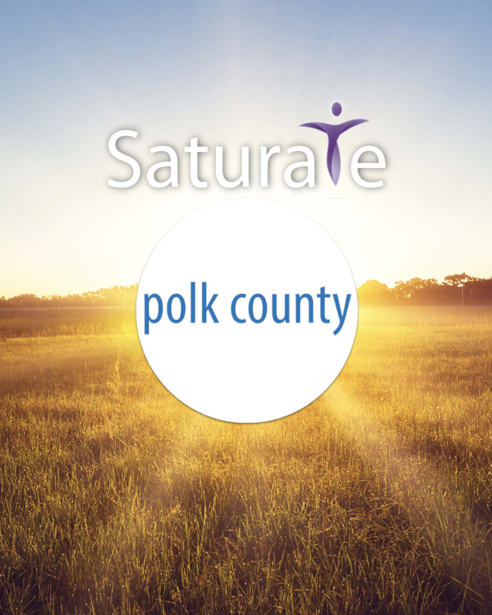 Saturate Polk County Header